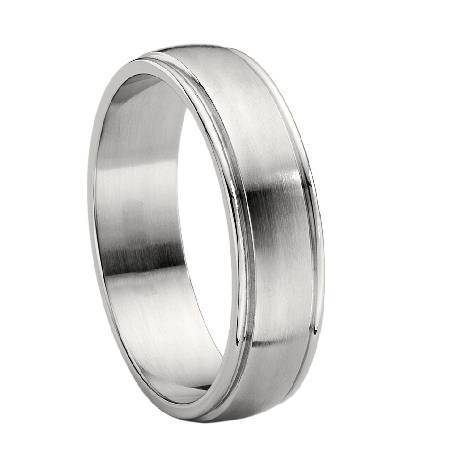 Mens Wedding Bands Titanium.Titanium Brushed Finish Wedding Band Jt0118