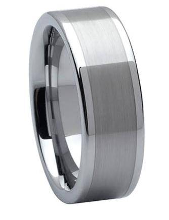 Tungsten Carbide Wedding Ring Just Mens Rings